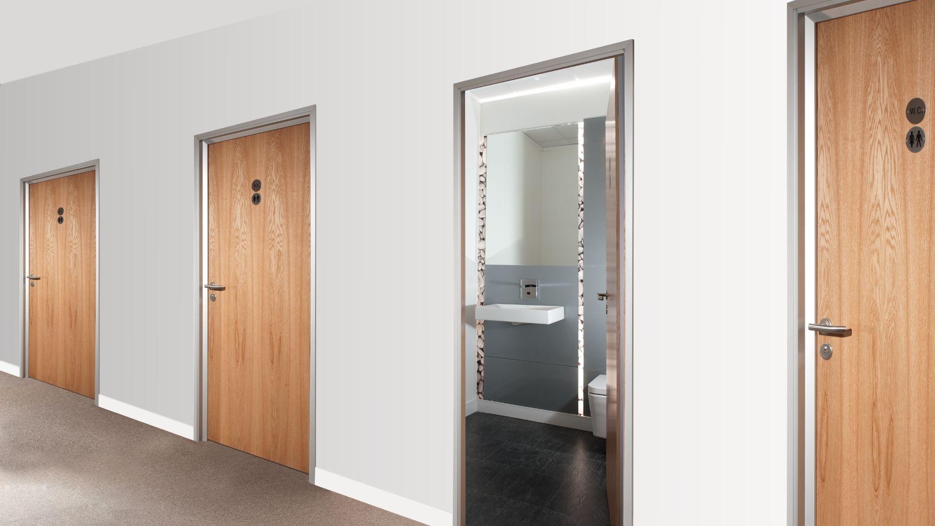 Individual washrooms