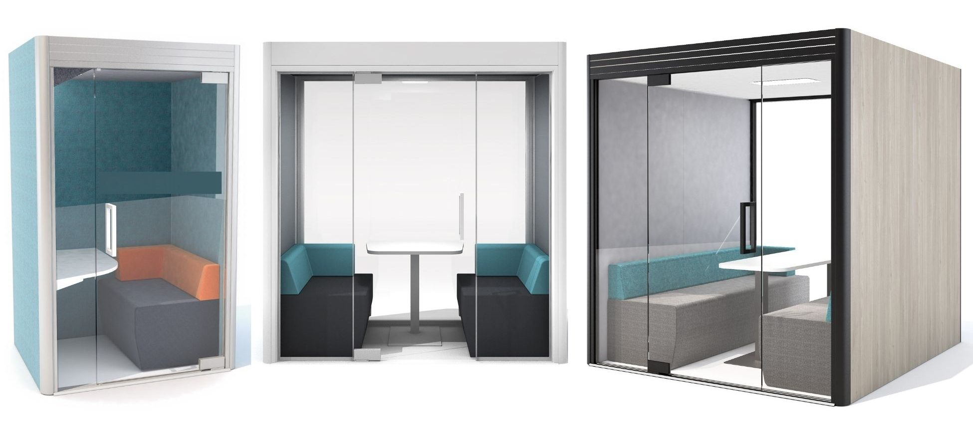 Kube pods and booth