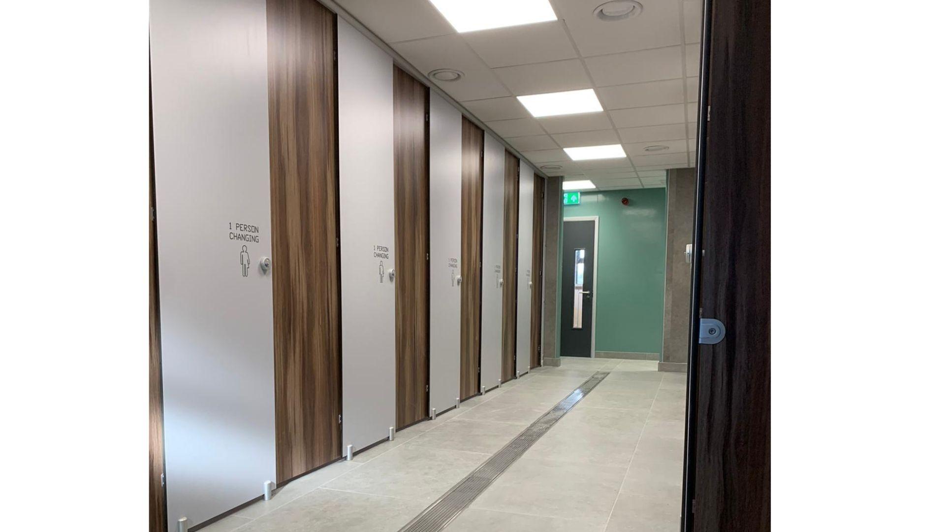 Premier Full Height washrooms
